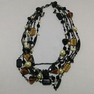 16-18 inch natural stone necklace